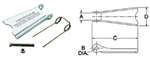 Crosby S-4055 Hook Latch Kit  Pt.#1090045