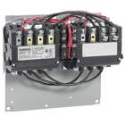 Siemens Reversing Contactor ECP 43EP32AF, NEMA Rated, 120VAC Coils, 3Phase, 40 Amp.