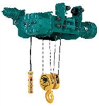 BLACK BEAR WIRE ROPE HOISTS, 5 Ton Capacity