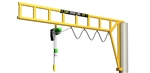 Met-Track Workstation Jib Cranes
