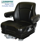 Sears Cab Seating with Swivel and Armrest