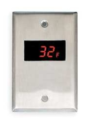 Panel Mounted Temperature Thermometer
